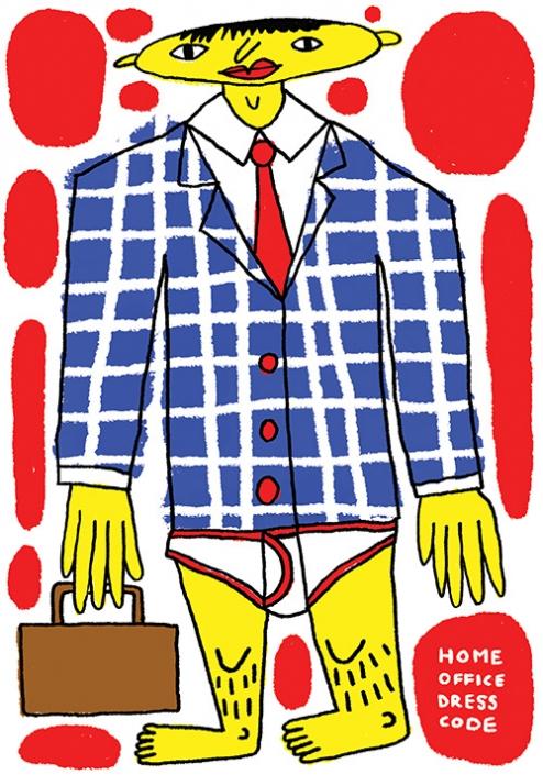 Home office dress code • Huszlicska Áron